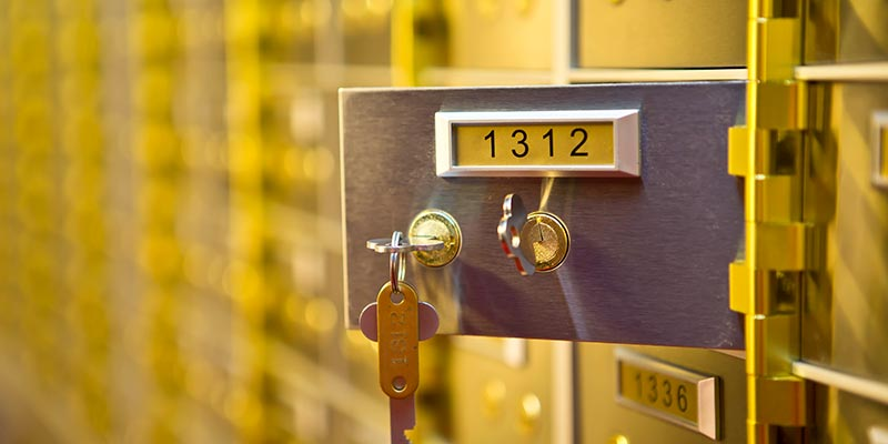 Safety Deposit Boxes Cardiff
